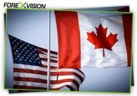 Американский и канадский доллар стабилизировались после выхода новостей из-за позитивного ВВП